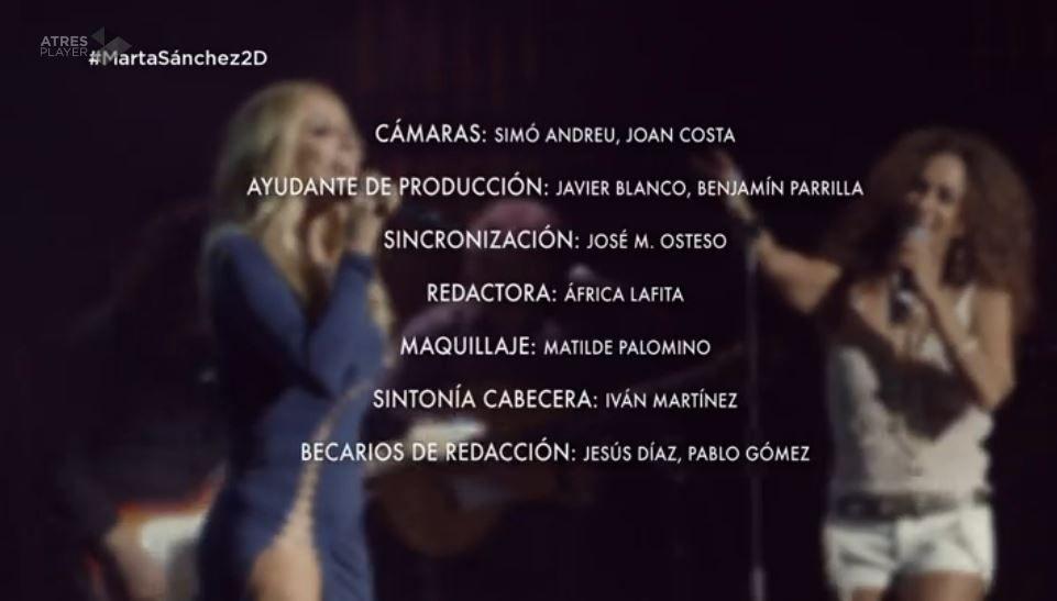 Dos días y una noche - Marta Sánchez